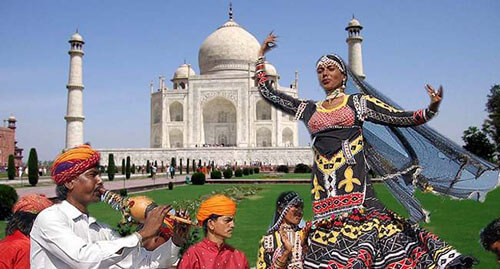 Events By Taj mahal